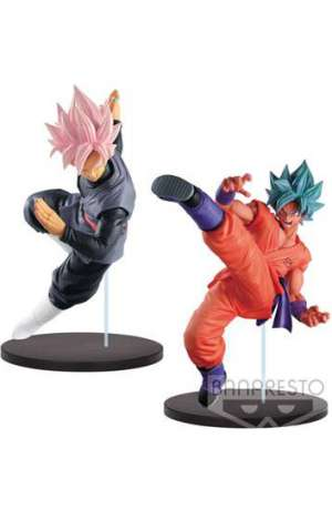 Dragon Ball Super Figuras Black Goku Super Saiyan Rose y SSGSS Goku 01