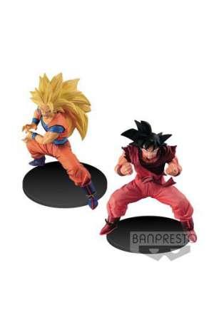 Dragon Ball Super Figuras Super Saiyan 3 Goku y Kaioh Ken Son Goku 01