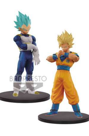 Dragon Ball Super Warriors Figuras DXF SSJ 2 Goku y SSJ Blue Vegeta 01