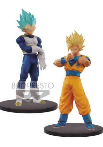 Dragon Ball Super Warriors Figuras DXF SSJ 2 Goku y SSJ Blue Vegeta 01
