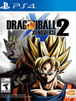 Dragon Ball Xenoverse 2 PS4 Portada