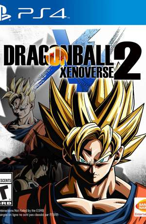 Dragon Ball Xenoverse 2 PS4 Portada