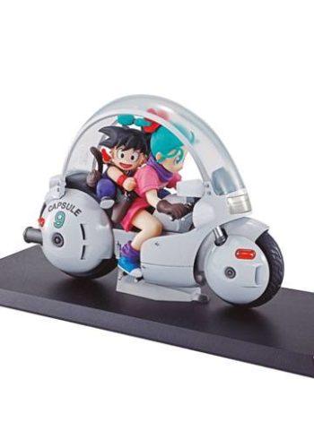 Dragon Ball Z 06 Desktop Real McCoy Diorama Figura Goku y Bulma 01