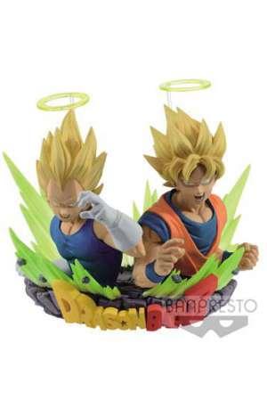 Dragon Ball Z Busto Figuration Figuras SSJ Goku y Vegeta 7 cm 01