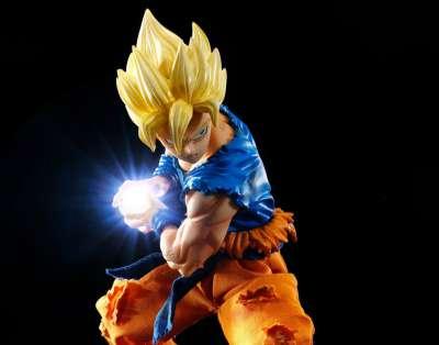 Dragon Ball Z D.O.D.O.D. Figura Super Saiyan Son Goku 06