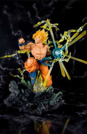 Dragon Ball Z Figura Figuarts ZERO Super Saiyan Son Goku Exclusive 20 cm