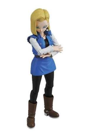 Dragon Ball Z Figura Modelo plastico Androide Numero 18 01