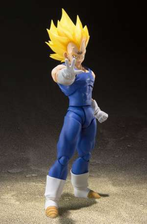 Dragon Ball Z Figura S.H. Figuarts Majin Vegeta Tamashii Web Exclusive 01
