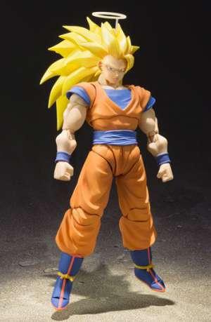 Dragon Ball Z Figura S.H. Figuarts SSJ 3 Son Goku 01