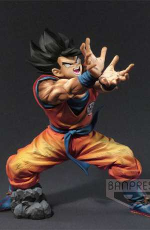 Dragon Ball Z Figura Super Kamehame-Ha Son Goku Premium Color 01