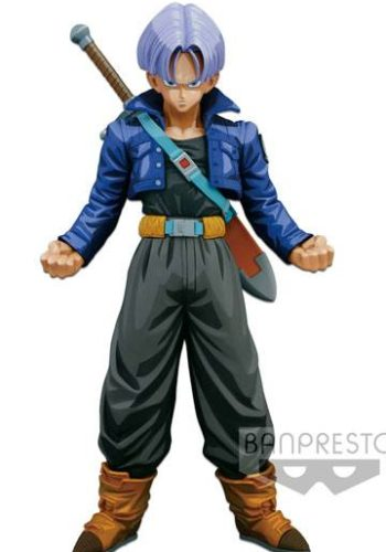 Dragon Ball Z Figura Super Master Stars Piece Trunks Manga Dimensions