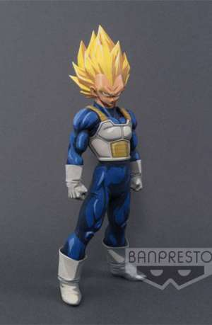Dragon Ball Z Figura Super Master Stars Piece Vegeta Manga Dimensions portada