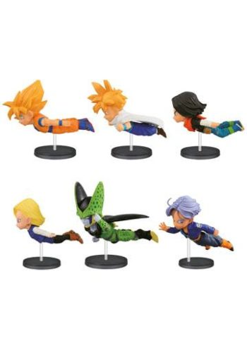 Dragon Ball Z Figuras WCF ChiBi 30th Anniversary Volumen 3 01
