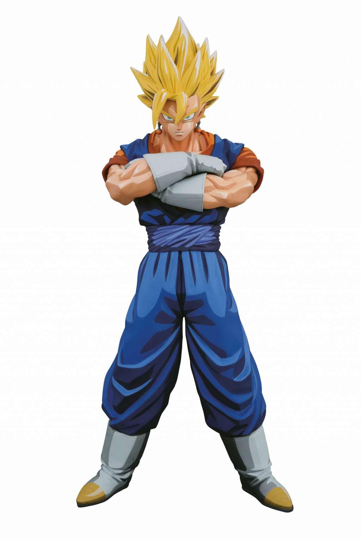 Dragon Ball Z Master Stars Piece Figura Super Saiyan Vegito Manga Dimensions 02