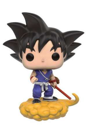 Dragon Ball Z POP! Animation Vinyl Figura Goku y nube voladora 01