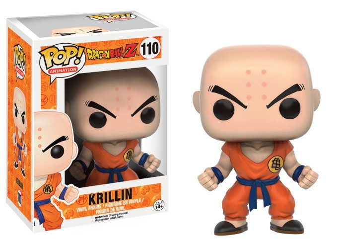 Dragon Ball Z POP! Animation Vinyl Figura Krillin 02