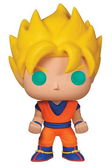 Dragon Ball Z POP! Vinyl Figura Super Saiyan Goku 01