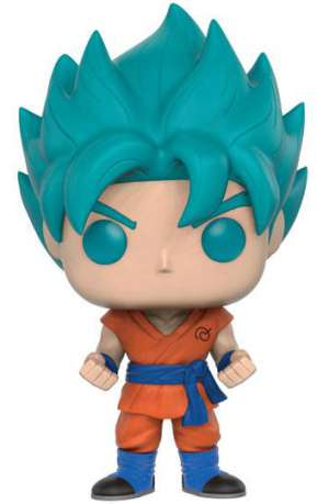 Dragon Ball Z Resurrection F POP! Vinyl Figura Super Saiyan God Goku Blue 01