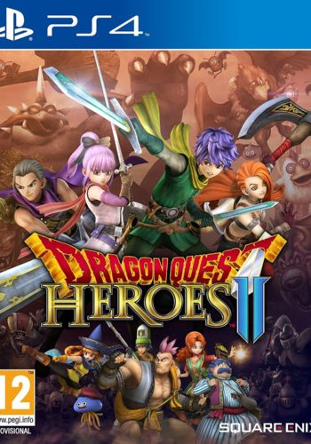 Dragon Quest Heroes II PS4 Portada
