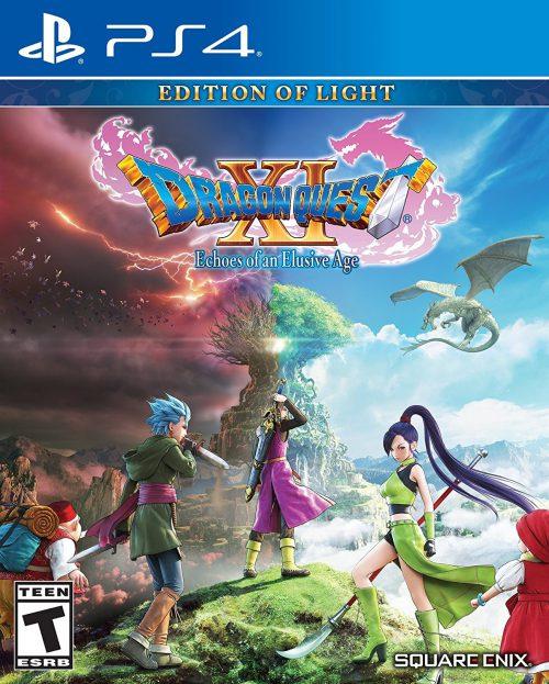 Dragon Quest XI Ecos de un pasado Perdido PS4 Portada