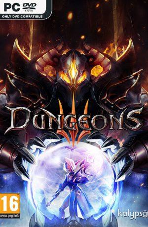Dungeons 3 PC Portada