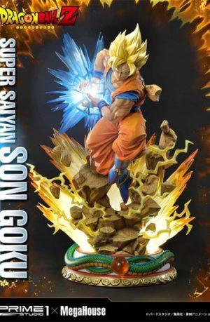 Estatua Dragon Ball Z Super Saiyan Son Goku