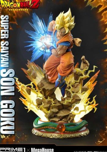 Estatua Dragon Ball Z Super Saiyan Son Goku