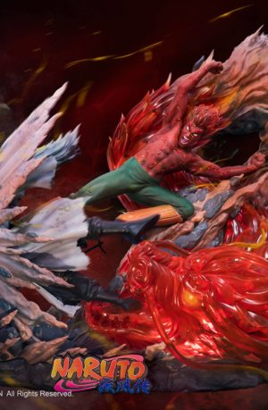 Estatua Naruto Might Guy VS Uchiha Madara