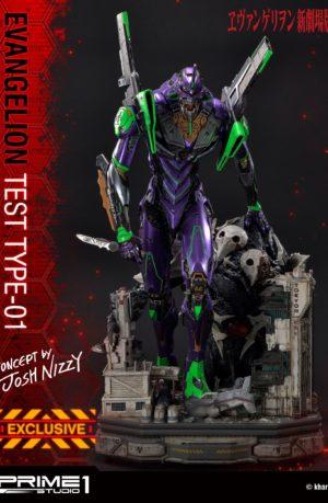 Estatua Neon Genesis Evangelion Test Type-01 Concept Exclusive
