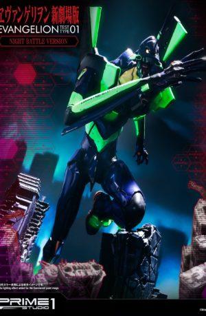Estatua Neon Genesis Evangelion Test Type-01 Night