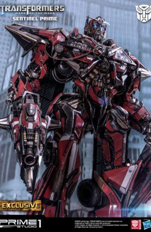Estatua Sentinel Prime Exclusive Transformers