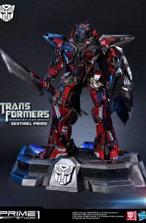Estatua Sentinel Prime Transformers