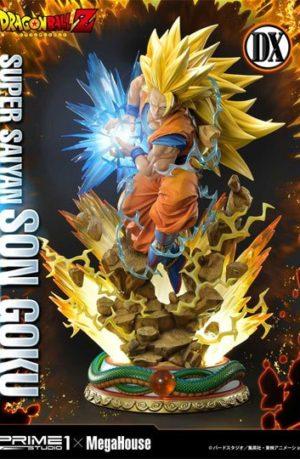 Estatua Super Saiyan Goku Deluxe Version