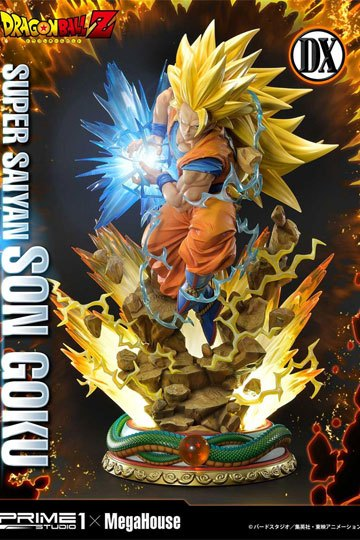 Estatua Super Saiyan Goku Deluxe Version