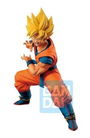 Estatua Super Saiyan Son Goku Ultimate Variation 18 cm Ichibansho