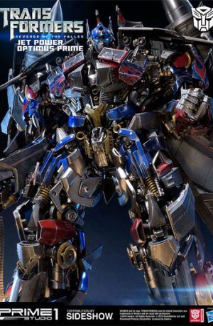 Estatua Transformers Jetpower Optimus Prime 93 cm