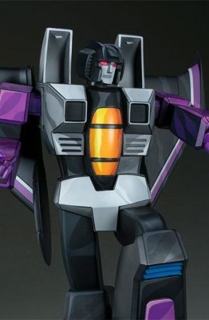 Estatua Transformers Museum Scale Skywarp G1 67 cm
