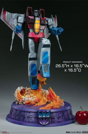 Estatua Transformers Museum Scale Starscream G1 67 cm
