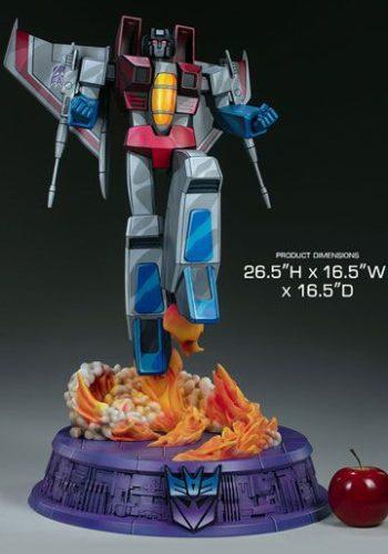 Estatua Transformers Museum Scale Starscream G1 67 cm