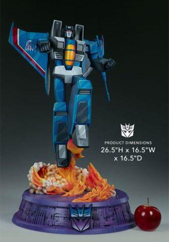 Estatua Transformers Museum Scale Thundercracker G1 67 cm