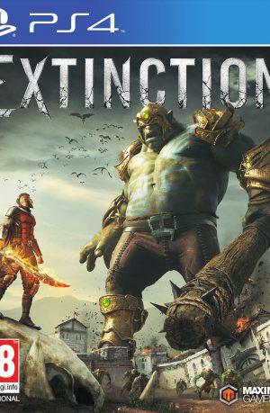 Extinction PS4 Portada