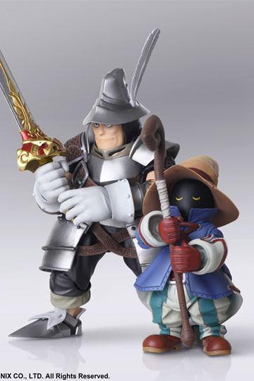 Figuras Vivi Ornitier y Adelbert Steiner Final Fantasy IX