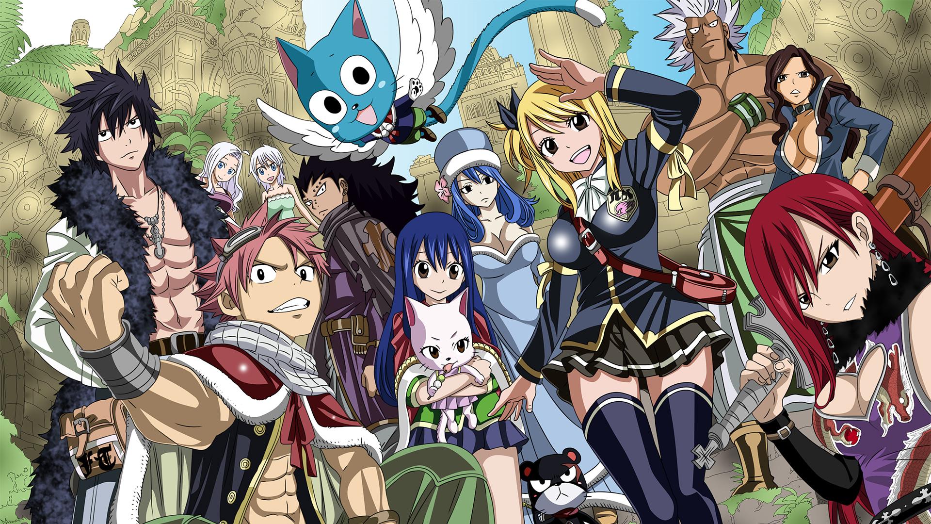 Descargar Fairy Tail 1080p Primera Temporada