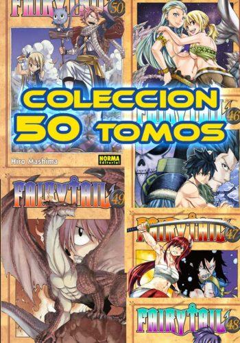 Fairy Tail coleccion 50 tomos