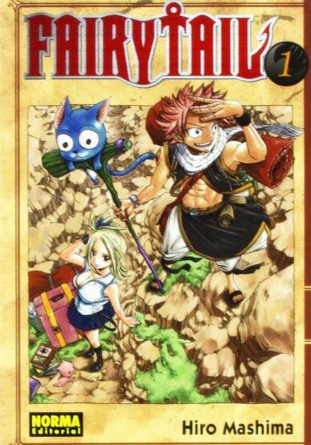 Fairy Tail manga tomo 1