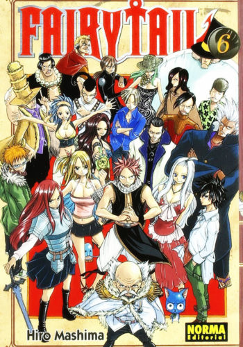 Manga Fairy Tail 06