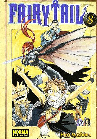 Manga Fairy Tail 08