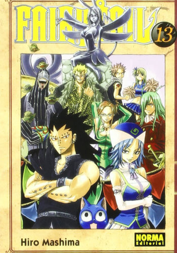 Manga Fairy Tail 13