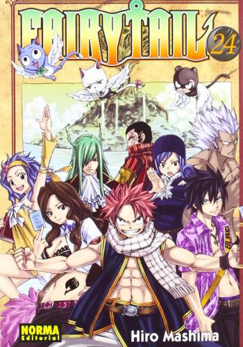 Manga Fairy Tail 24