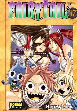 Manga Fairy Tail 37